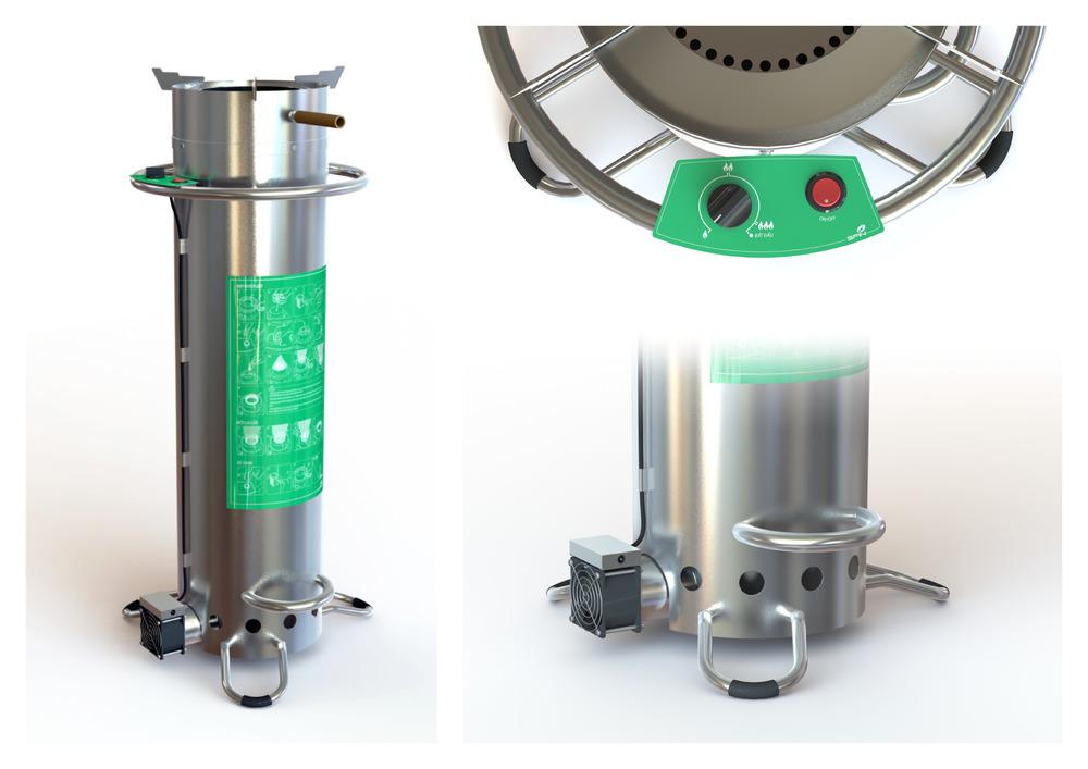 Improved Gasifier - Renders