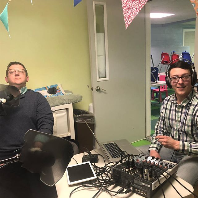 2 pastors, 1 intern, and 3 hours of recording