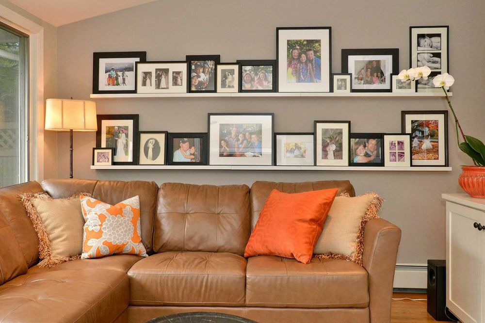 Family Picture Gallery Wall