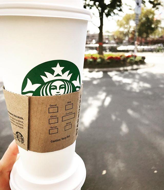 Yep! It's that kind of a day! #hustle #enroutetowork #caffeine #venti #njrealtor #njrealestate #njsuburbs #njsuburbia #njsuburbsre
