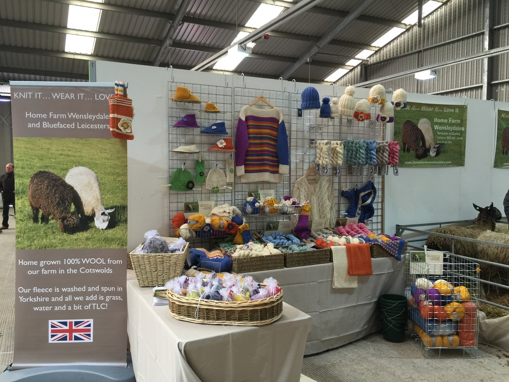 Thank you so much for having us Wonderwool Wales and we would love to see you all again next year x http://www.wonderwoolwales.co.uk/home.html