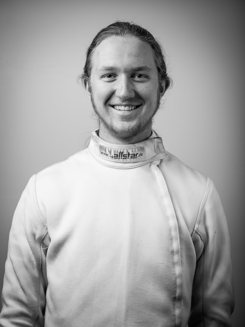 Kai Cummings - Kai teaches private lessons and assists with teaching all levels of classes. A student of history, he brings a historical perspective to his teaching of fencing.