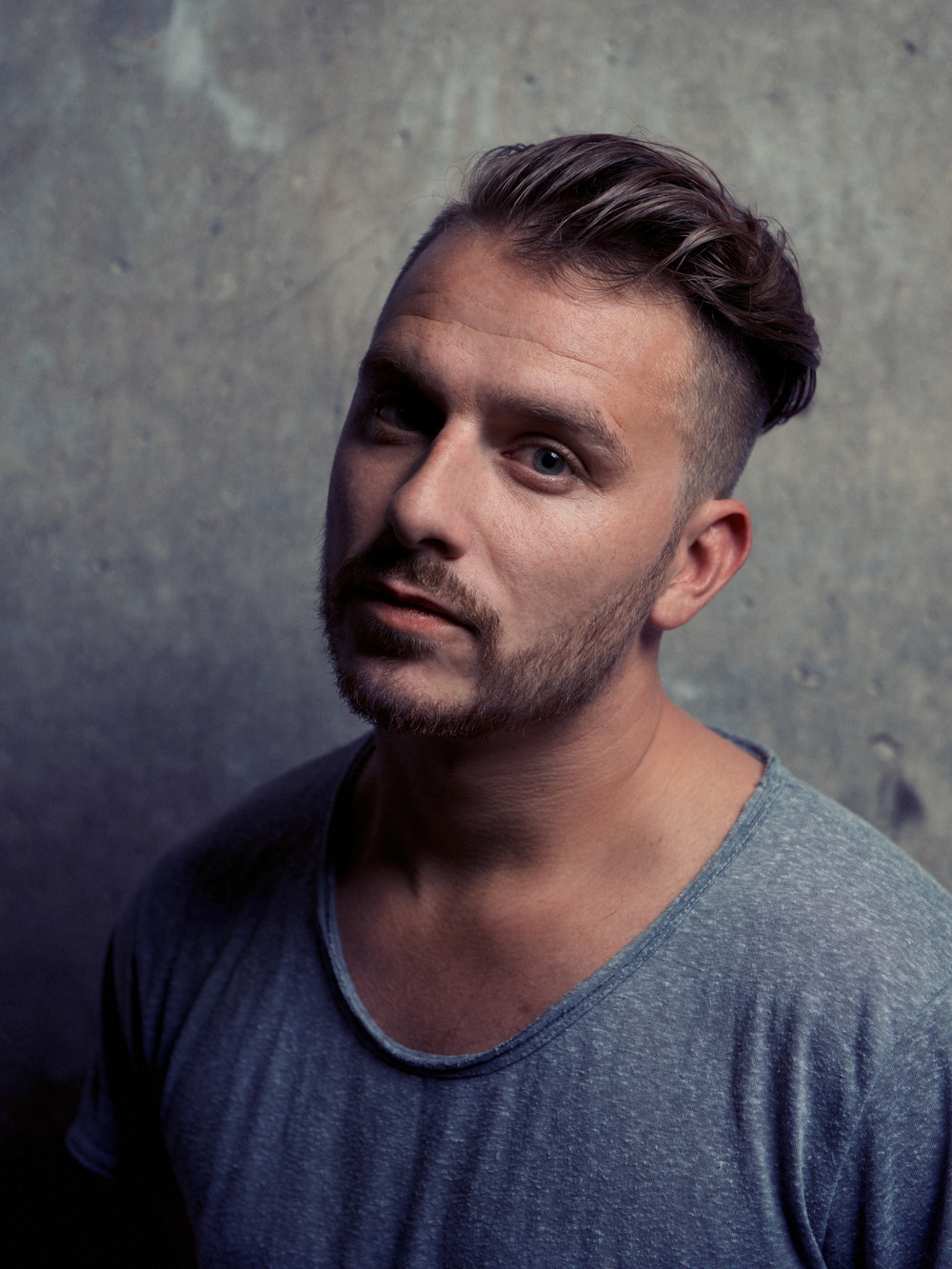 Dapper Laughs, Daniel O'Reilly photographed for Sony music.