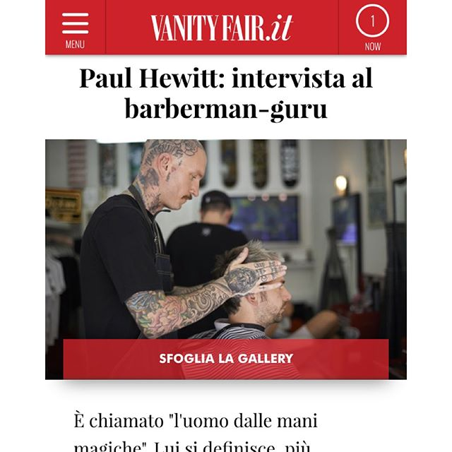 @aonoxxx interview on @vanityfairitalia online, well done mate and thanks for putting them in touch with me for the images. #photographer #photography #Portrait #brighton #AONO #aonobarbershop #lifestyle #barbering