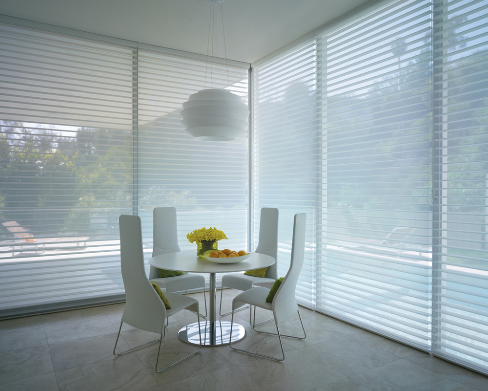 Home gt hunter douglas gt shades gt hunter douglas designer roller shades - Hunter Douglas Window Fashions Are Available In A Wide Variety Of Product Designs With Fabrics And Materials That Come In A Range Of Opacities From Sheer To