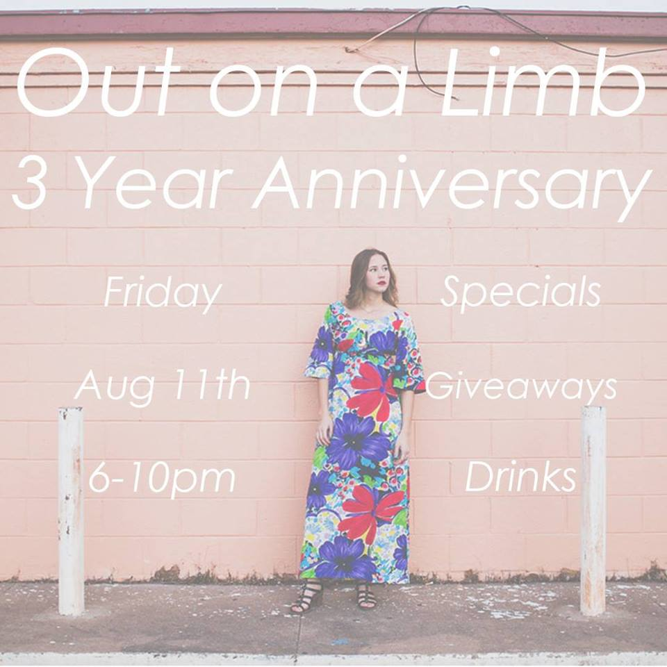 Out on a Limb 3 Year Anniversary Celebration! — Plaza District