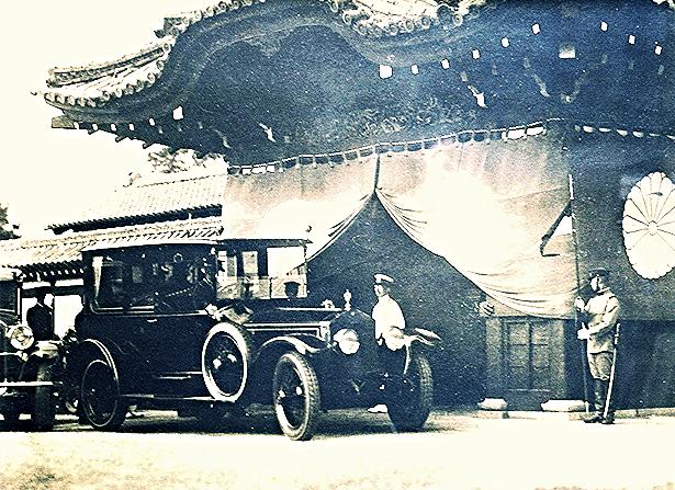 Rolls-Royce Silver Ghost Hooper принадлежавший японскому императору Хирошито