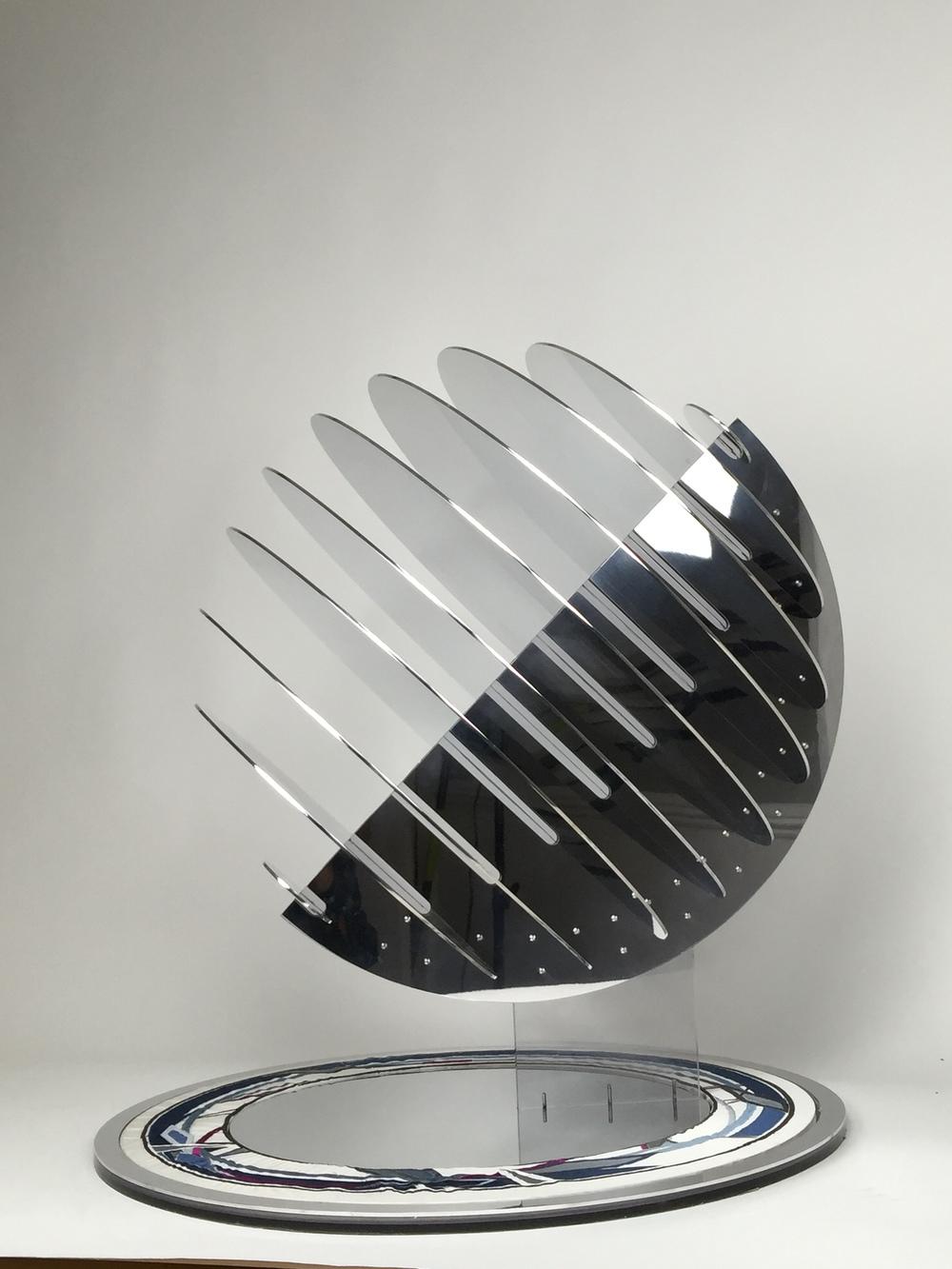 "Sphere 24, 29"" H X 28"" D X 28"" W"