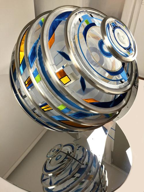 Detail of Sphere 30.