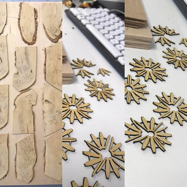 Knowing your material #boxwood is just important as your process #lasercutting #bosslaser #adobeillustrator