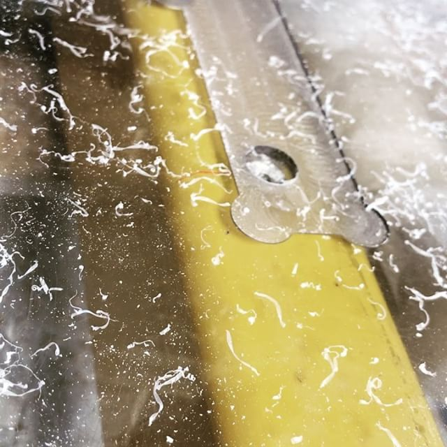 #cnc #table #prep for cutting #alluminum #lexan #fusion360 #autodesk