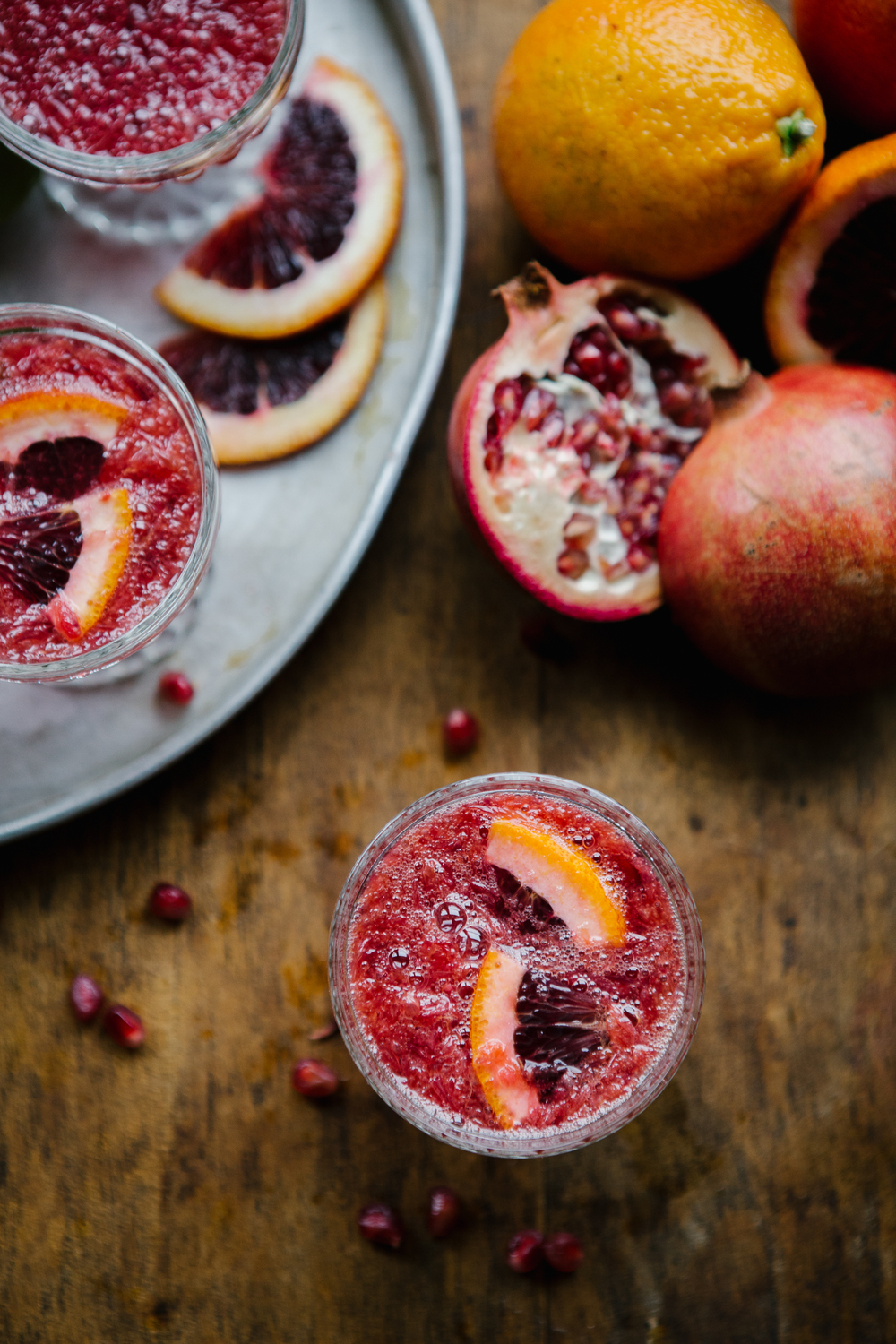 blood-orange mimosa recipe collab featured on  my kitchen love blog