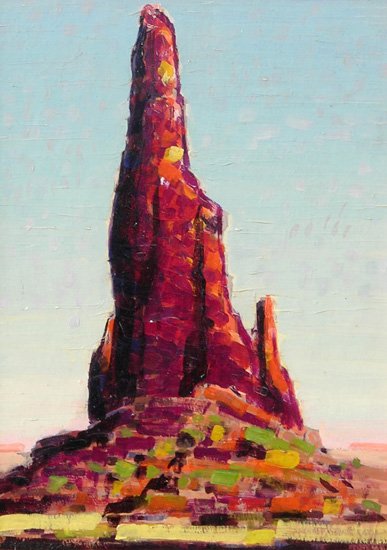 Pinnacle    / Oil on Board / 15.75 x 11.5in.