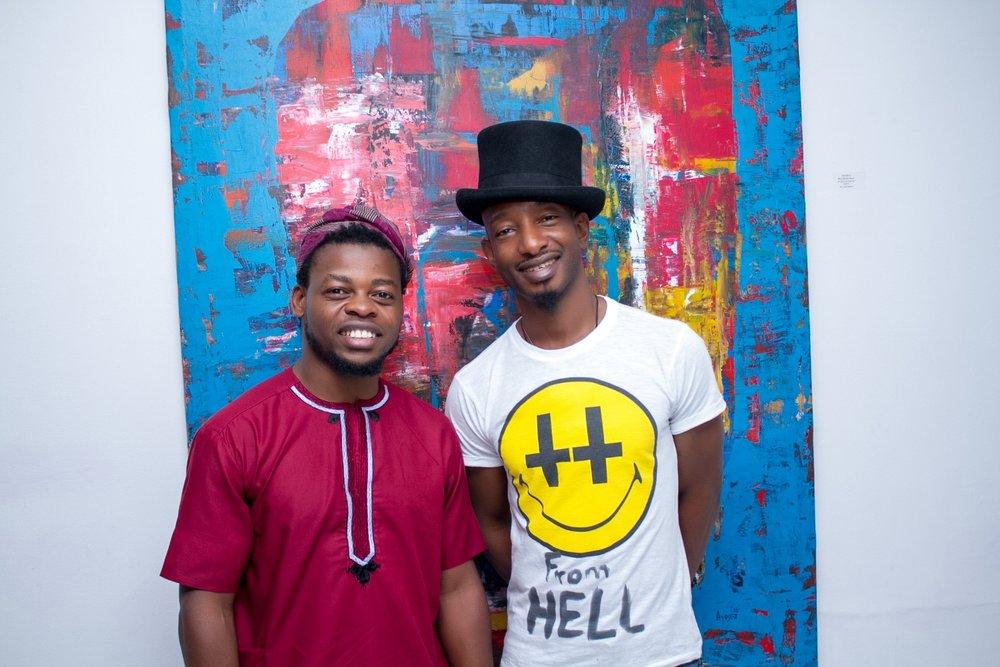 Qudus Onikeku and Ayoola Omogbolahan