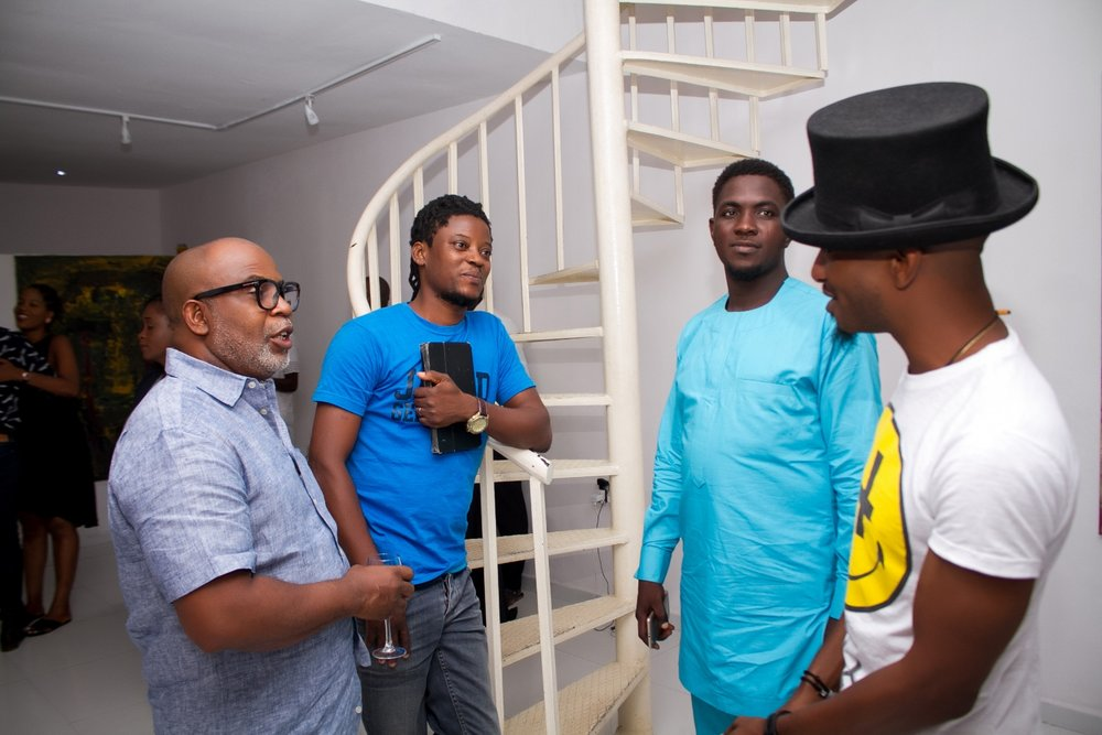 L-R: Gbenga Offo, Bob-Nosa Uwagboe, Suraj Adekola, Ayoola Omogbolahan