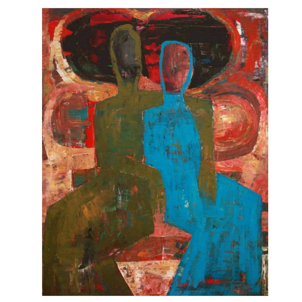 The Couple of Blue and Green: Work from the Human Anthropology series