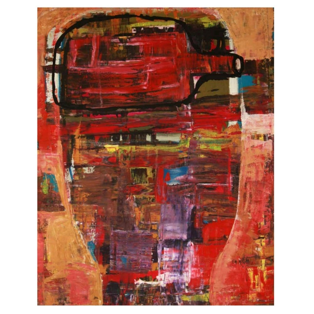 One Sighed Bottle Head: Work from the Abstract Figurations series