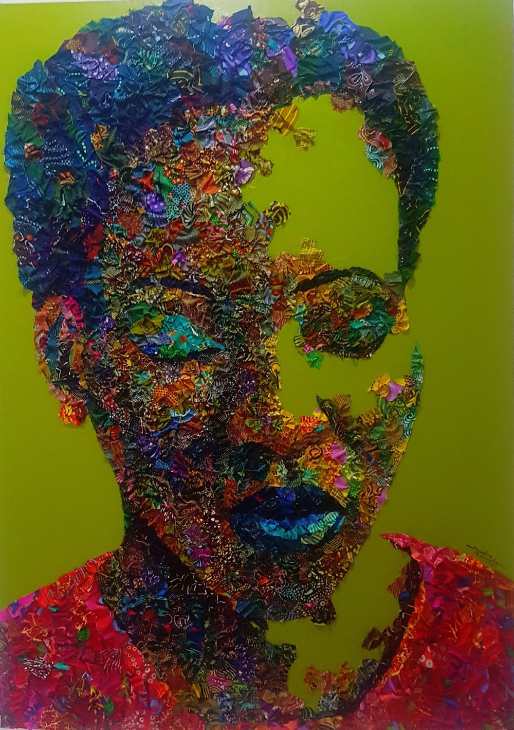 - Oghenekevwe | Mixed Media | 36 x 40.5 inches