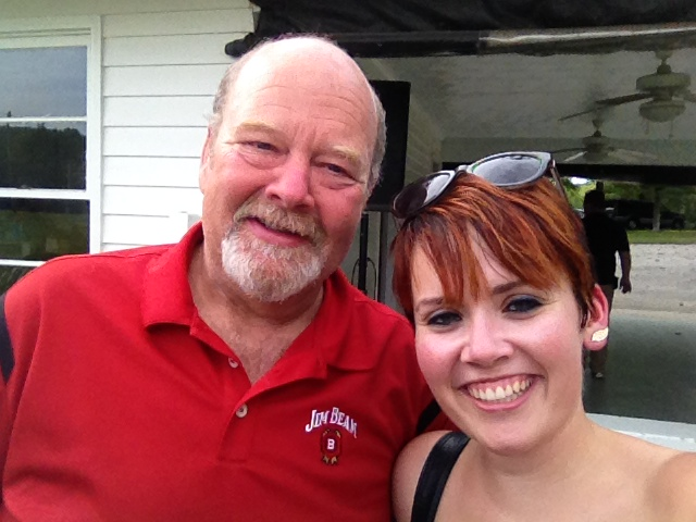 Me with Fred Noe of Jim Beam!