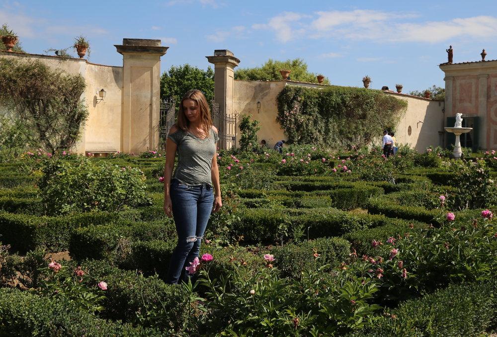 Boboli Gardens in Florence, Italy