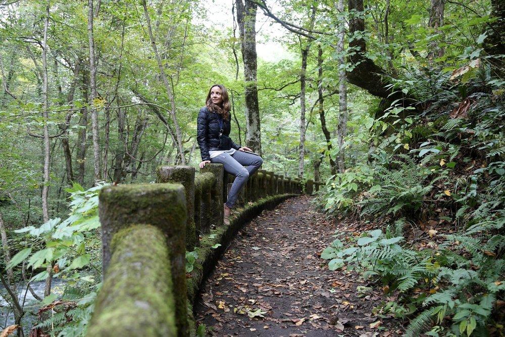 Hiking in Aomori, Japan