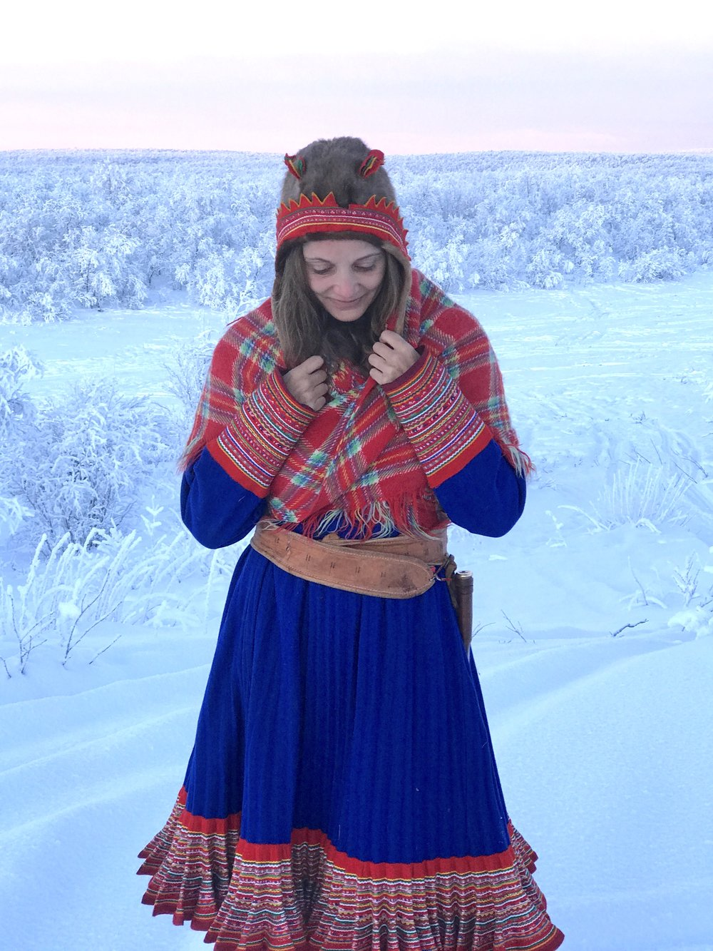 In the Arctic Tundra of Norway