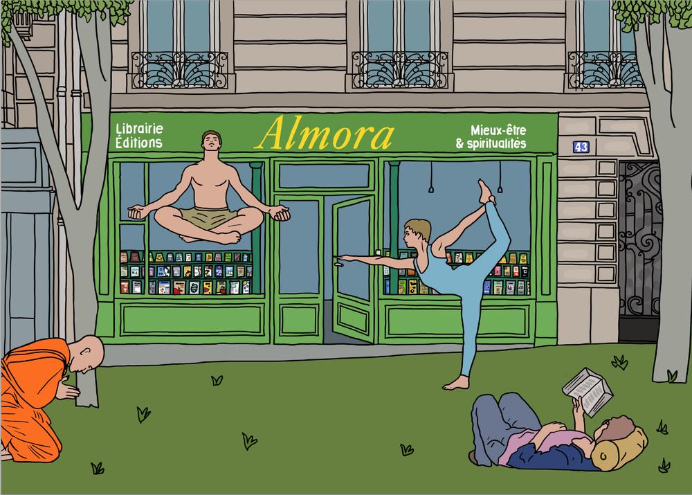 Almora, nouvelle librairie spécialisée pour le Yoga à Paris