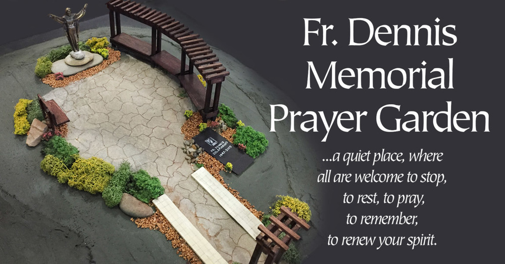 Father Dennis J. Colamarino Memorial Prayer Garden