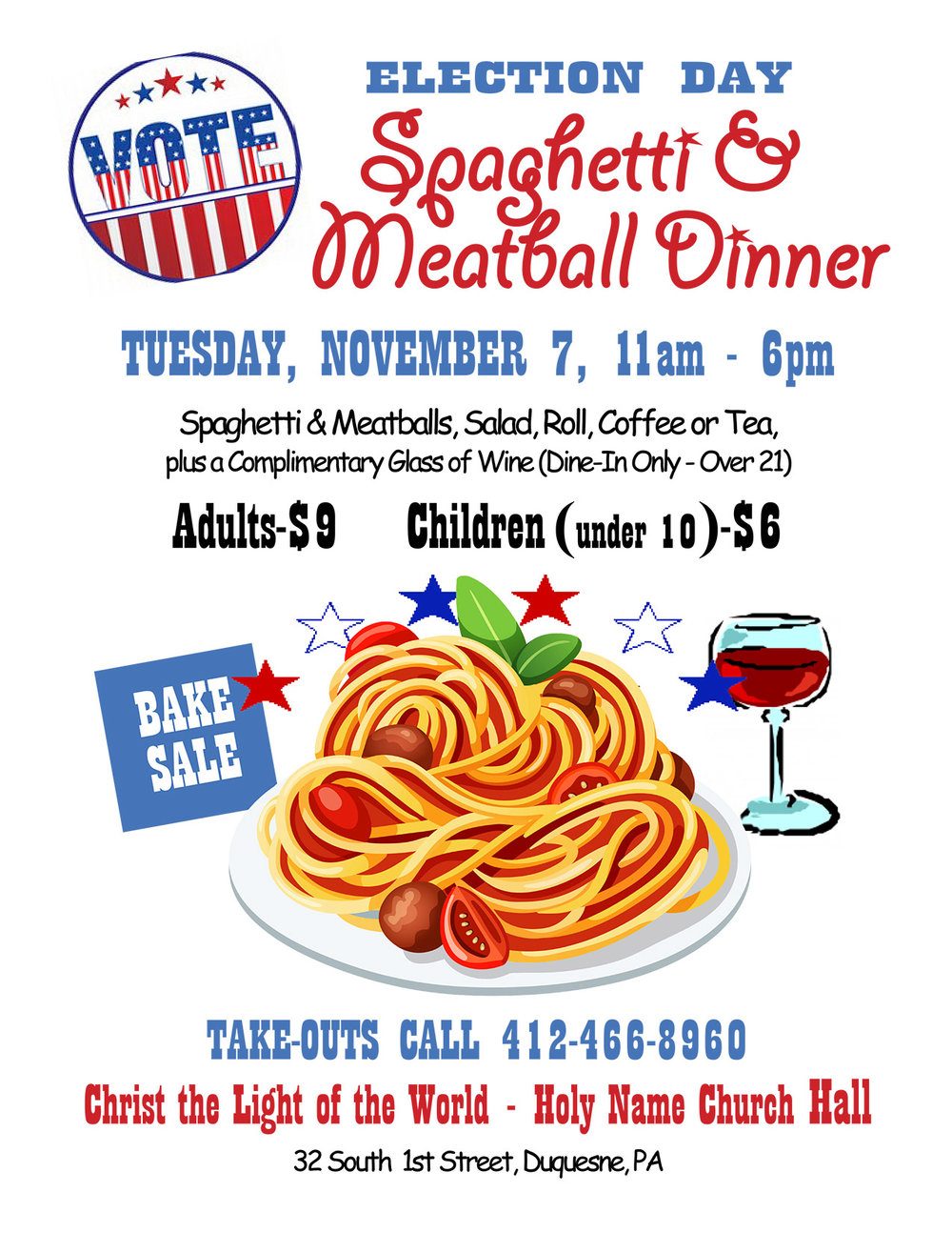 Election Day Spaghetti Dinner.jpg