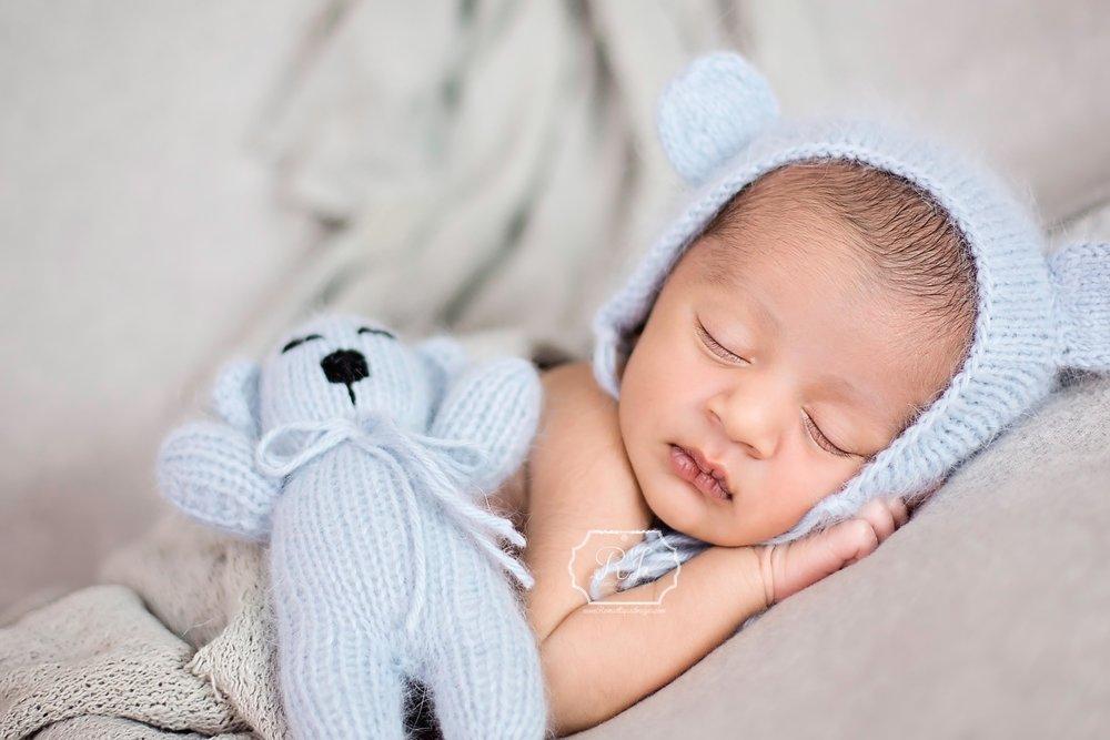 Teddy newborn photography ri ma baby