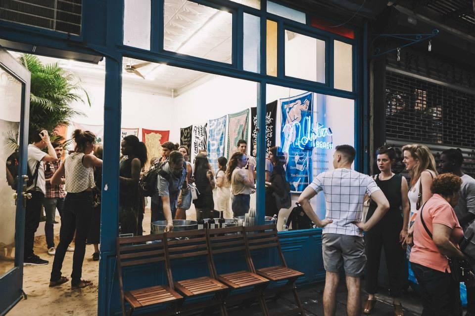 elizabeth st gallery pop up nolita retail