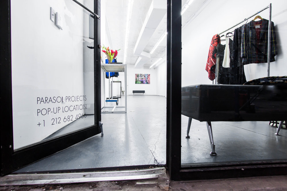 208 Gallery Pop Up Space - Retail Space - door open