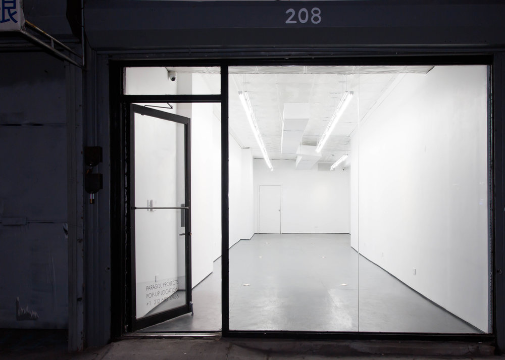 208 Bowery gallery pop up space exterior