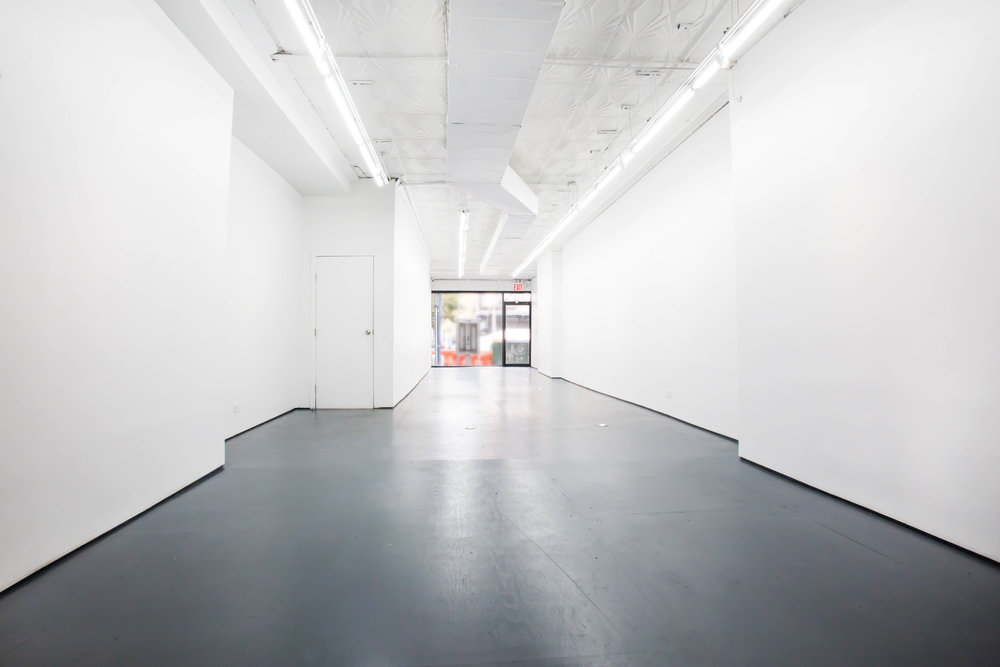 208 Bowery Gallery interior East View