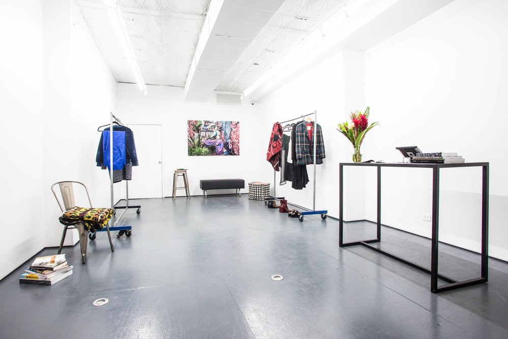 208 Bowery Gallery Pop Up Space Retail Interior