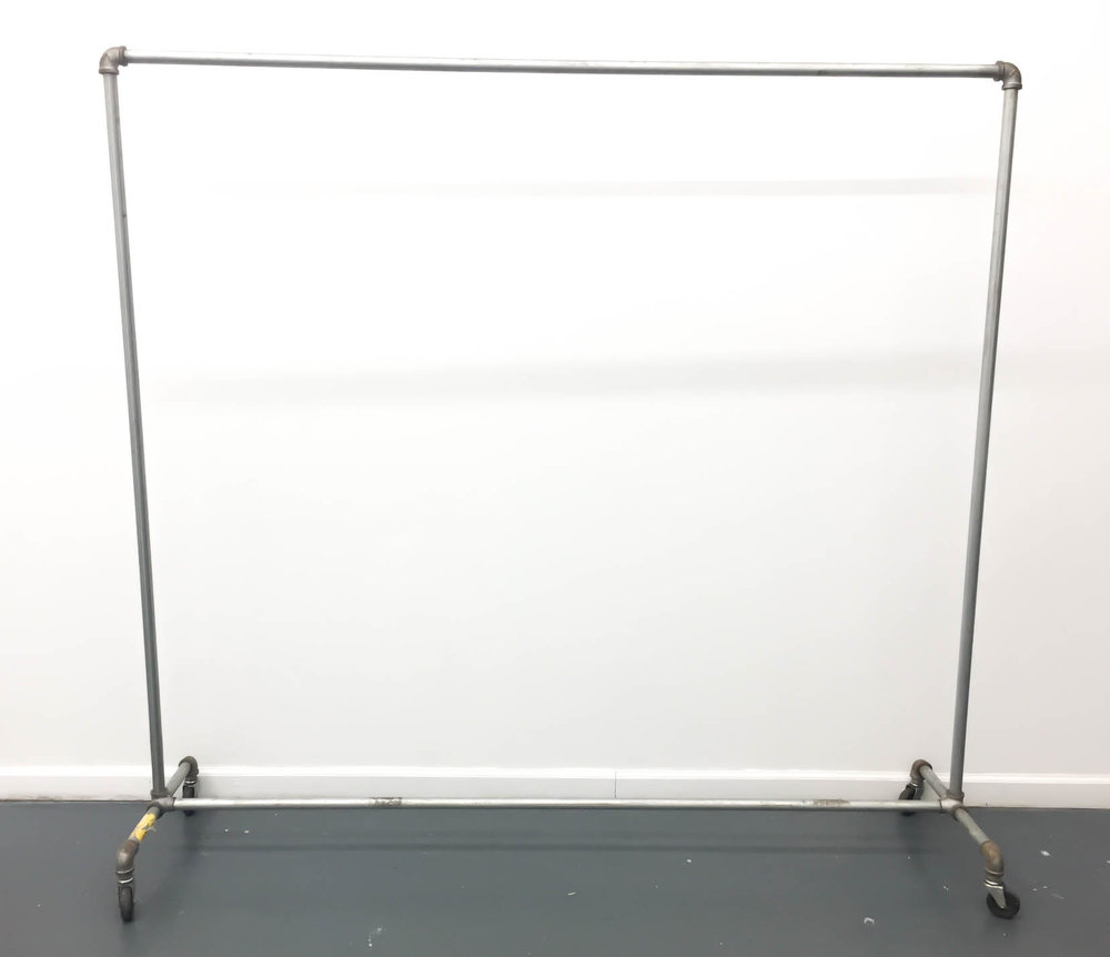 "Industrial Rack 1 available 66"" tall x 69"" wide $65/week Ref: SRA02"