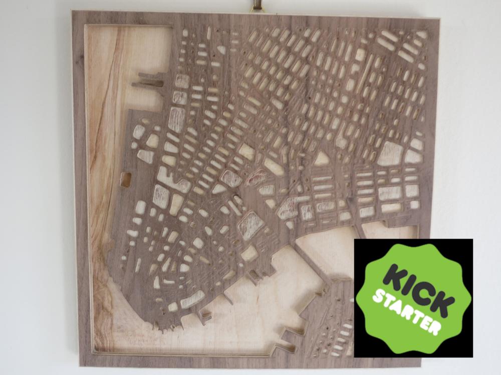 Street Maps - Kickstarter — Jamie Frame Design