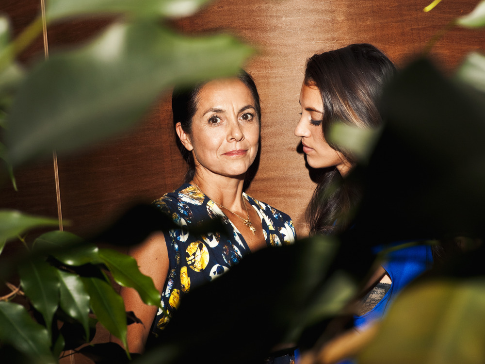 Maria Cornejo and Bibi for Glamour