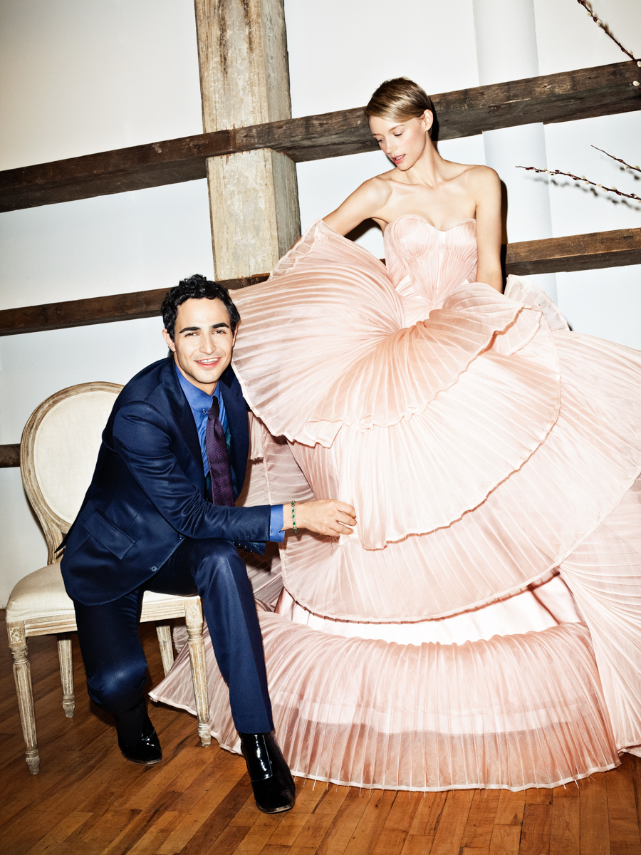 Zac Posen and Betina Holte for Glamour
