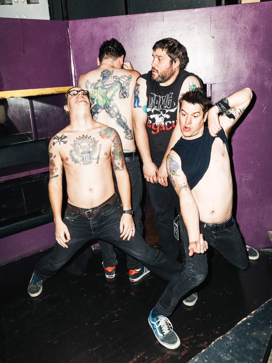 Teenage Bottlerocket for Inked