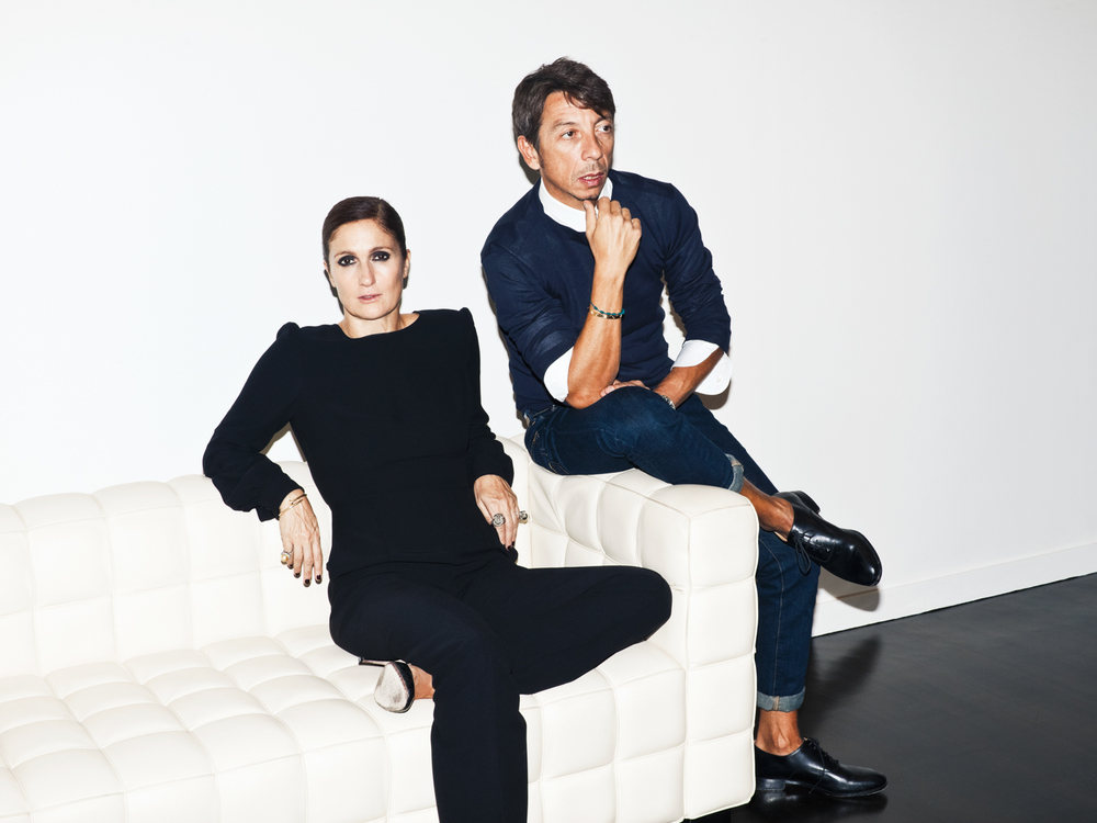 Valentino's Maria and Pierpaolo for Glamour