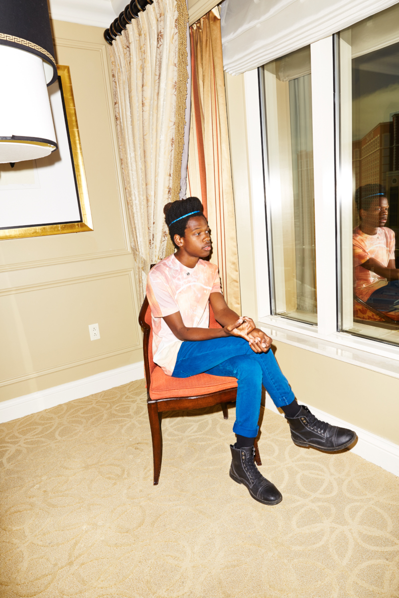Shamir Bailey for self-titled