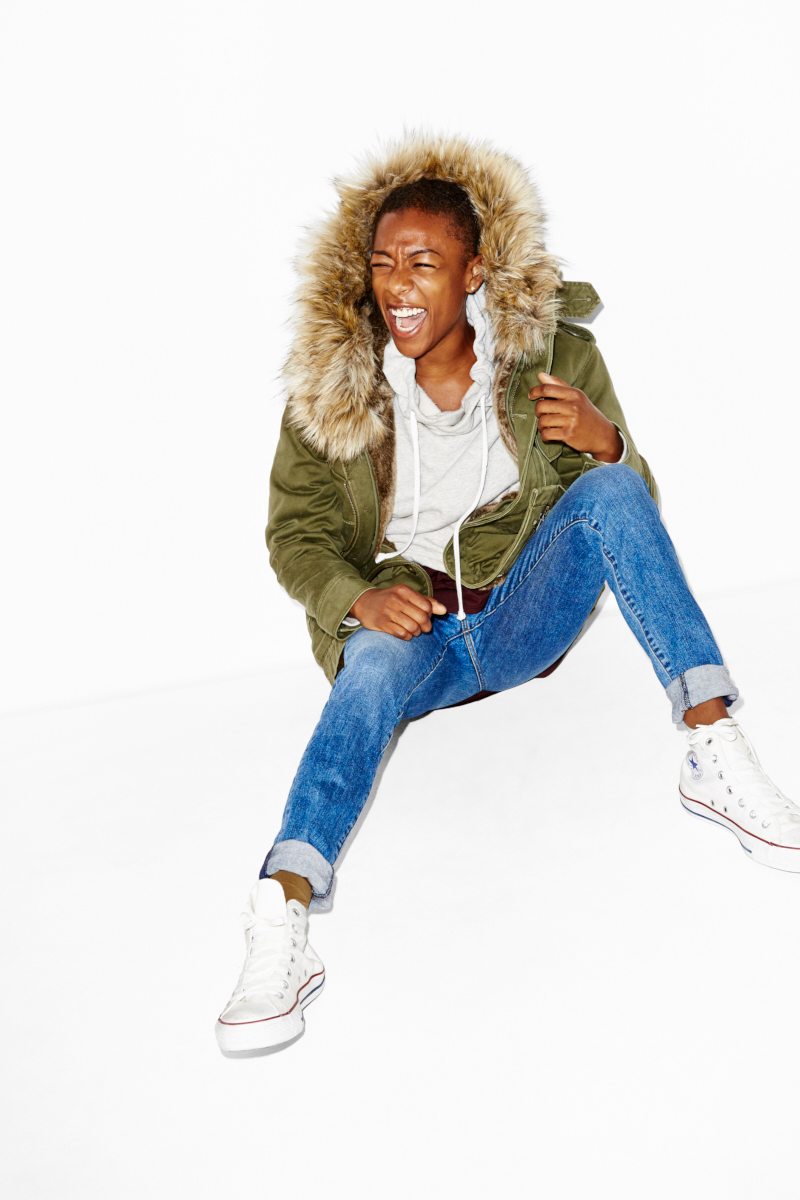 Samira Wiley for Aritzia