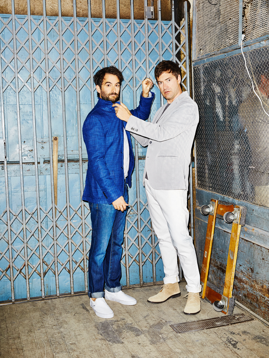 Jay and Mark Duplass for Esquire