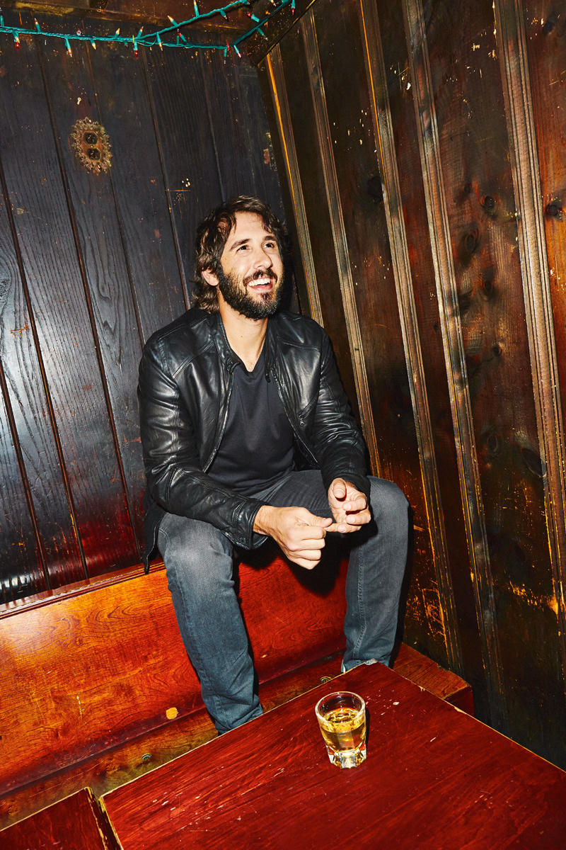 Josh Groban for Entertainment Weekly