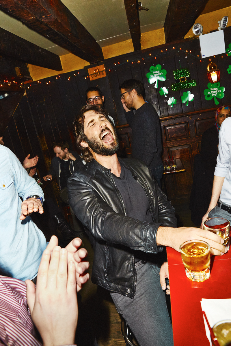 Josh Groban for Entertainment Weekly