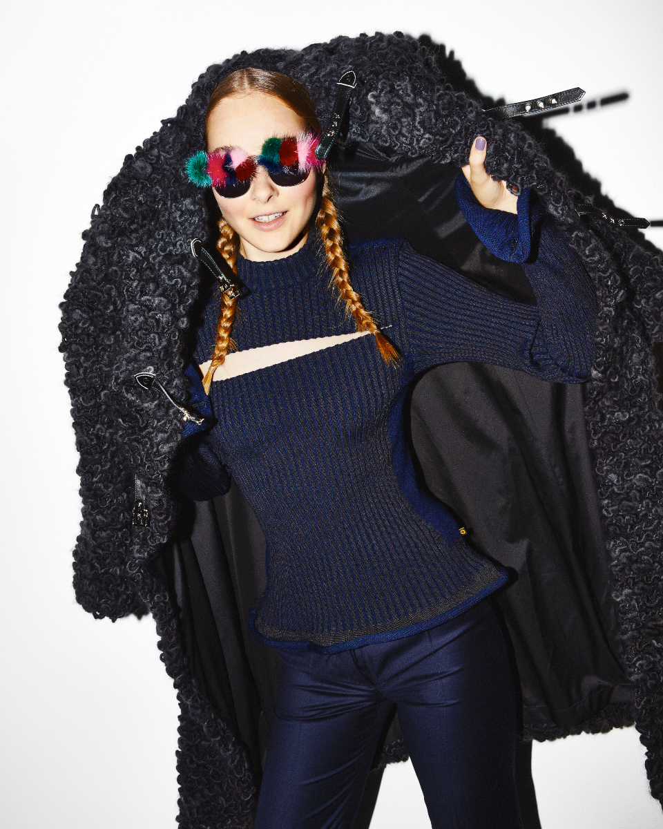 Nicole for Nylon