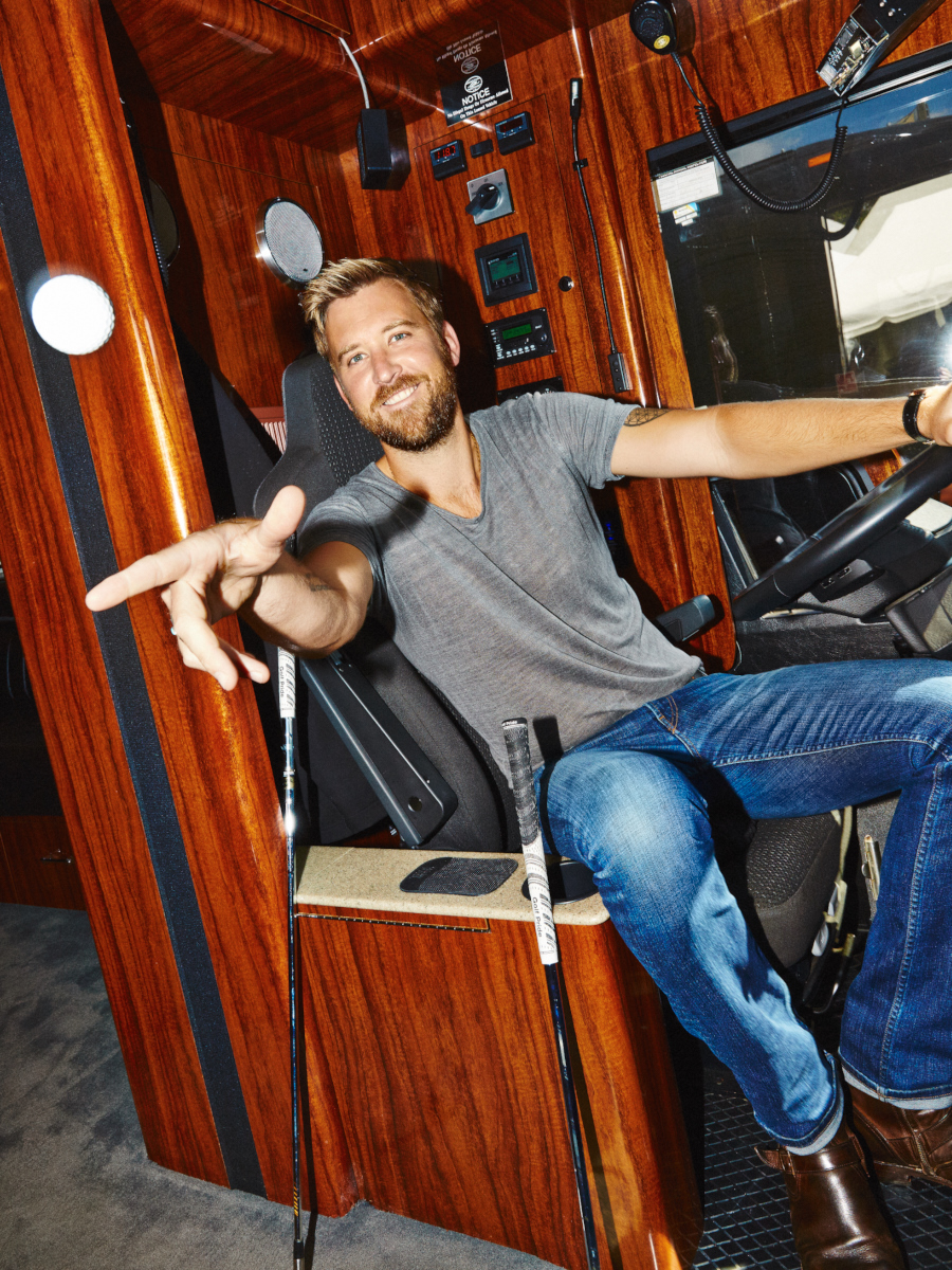 Lady Antebellum's Charles Kelley for Golf Digest