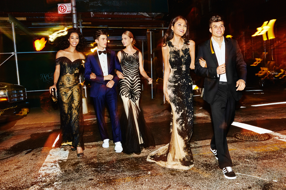 Dakota, James, Kate, Skye and Joe for Seventeen Prom