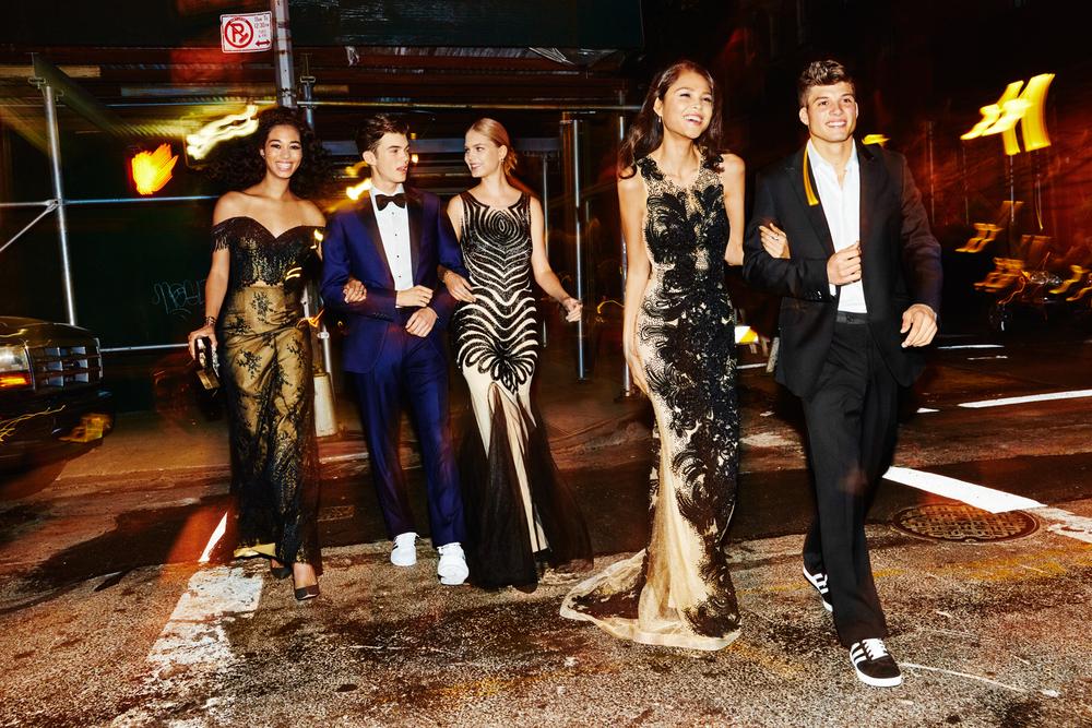 Dakota, James, Kate, Skye and Joe for Seventeen Prom